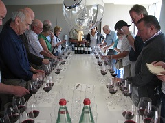 Chateau Latour tasting with Rose Murray Brown MW