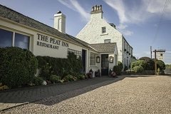 Champagne dinner at The Peat Inn Fife Scotland
